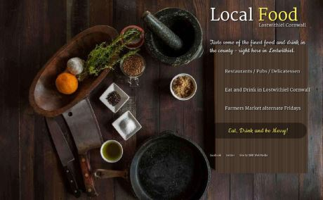 Local Cornish Food and Drink from Lostwithiel