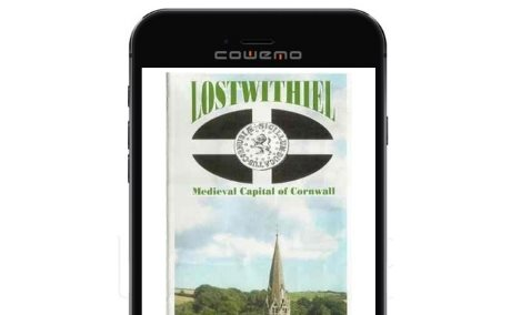 Lostwithiel Town Trail on mobile Phone